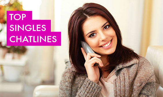 Singles phone dating chat line for seniors