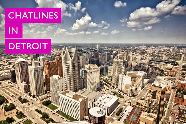 Detroit free chat line