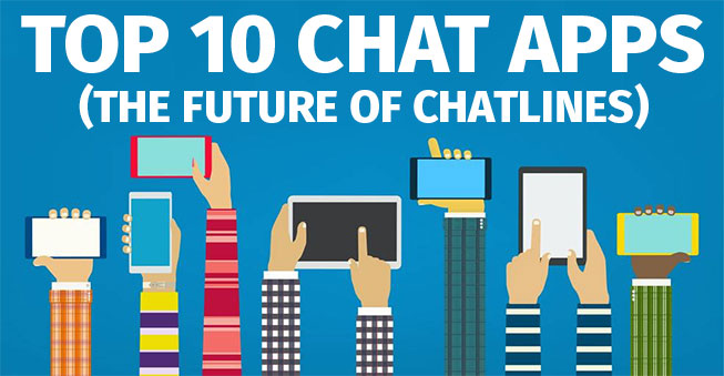 Top 10 Chat Apps as Chatline Alternatives