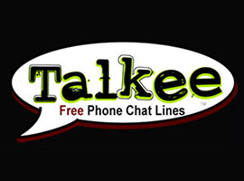Talkee Free Phone Chatlines Logo