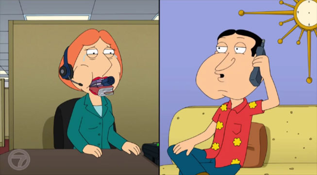 Lois Griffin blowjob
