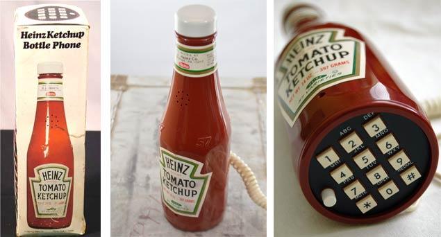 Vintage Ketchup Bottle Phone