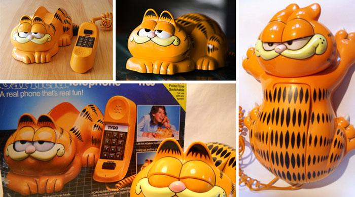 Tyco Garfield Novelty Phone
