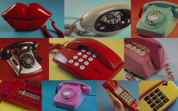 Vintage Phone Set Styles