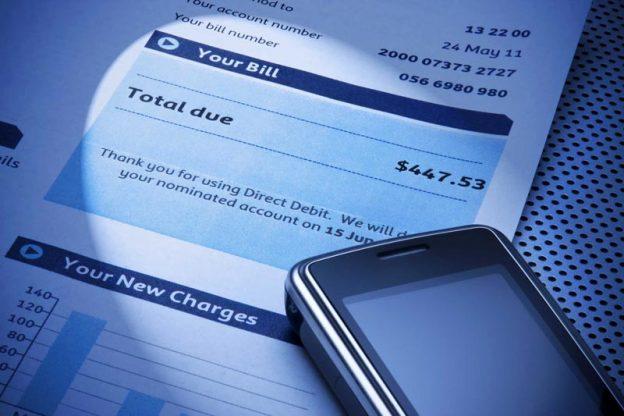 High Cell Phone Bill