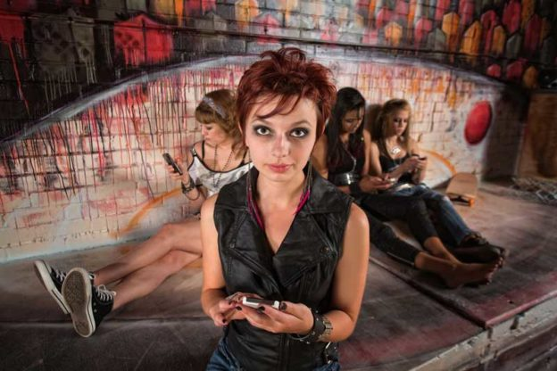 Teenagers Are Lurking on Phone Chat Lines